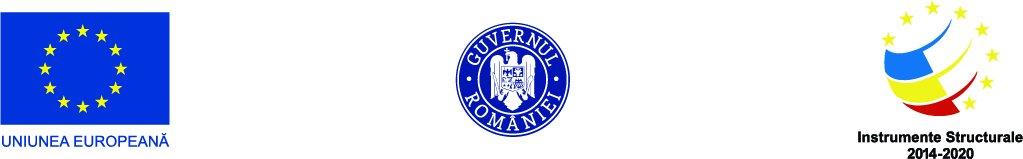 Logo Uniunea Europeana | Guvernul Romaniei | Instrumente Structurale